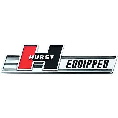 2008-2020 Dodge Challenger R/T SRT8 Hemi 6 speed TR6060 HURST EQUIPPED Emblem