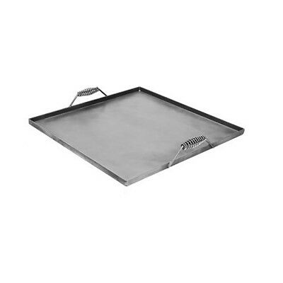 Steel Griddle - Covers 4 Burners