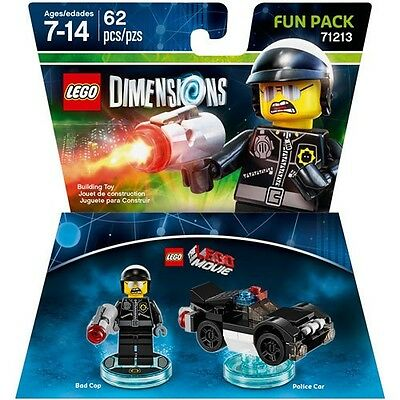 Wb Games   Lego Dimensions Fun Pack  The Lego Movie  Bad Cop