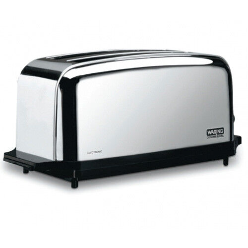 Commercial 4 Slice Toaster - Max 60 Slices an Hour