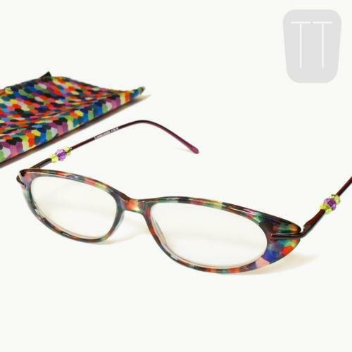 multi coloured reading glasses ebay