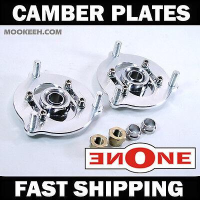 MK1 Adjustable Camber Kit Plates 12 15 Civic Si All 24dr Strut Mount