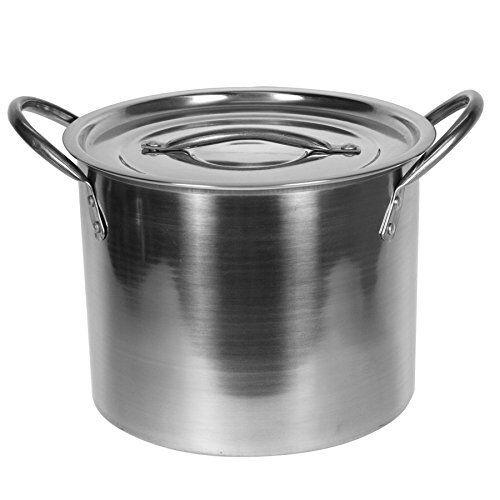 Stainless Steel Stock Pot 12 QT Quart 3 Gallon NOTE **