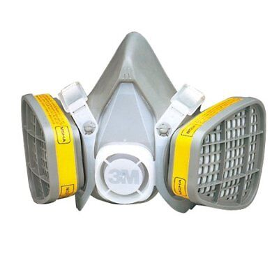 3m 21579 Half Facepiece Disposable Respirator 5303 Organic Vaporacid Gas Large