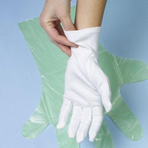 Papstar 1-120 Paar Baumwollhandschuhe weiß Trikot Handschuhe Top Qualität