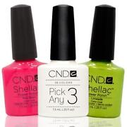 CND Shellac Color
