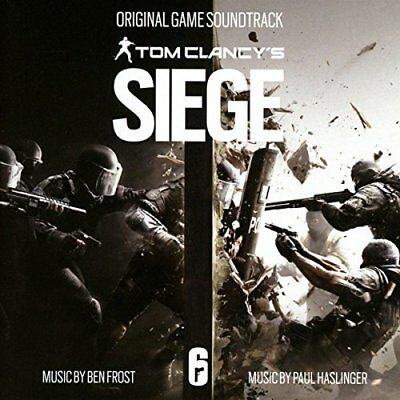 Ben Frost - Tom Clancys Rainbow Six Siege Original Game Soundtrack [CD]