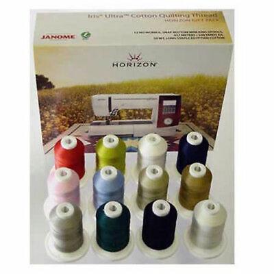 Janome Horizon Best 12 Iris Cotton Quilting Thread