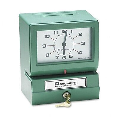 Acroprint Model 150er3 Automatic Time Recorder - 01207040a