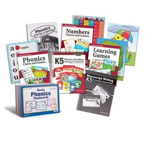 Abeka Grade K5 Essential Parent Kit (Manuscript Edition) New Edition