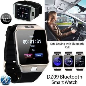 DZ09 Bluetooth Smart Watch Phone Mate Sports GSM SIM For Android