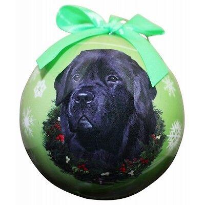 Newfoundland Newfie Shatterproof Ball Dog Christmas Ornament