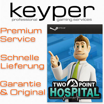 Two Point Hospital [Deutsch/Multi7] Steam Key Code PC Neu & Original