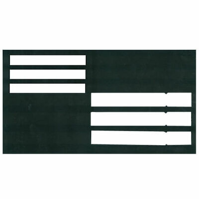 Large Plastic Envelope Writing Guide Item for Low Vision, Living Aid, Reading Large Envelope Template
