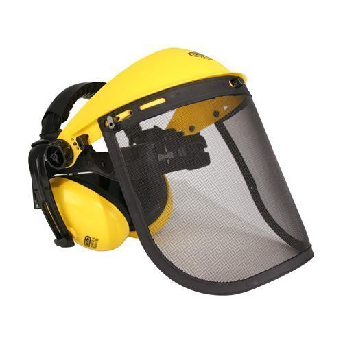 Oregon Mesh Visor and Ear Muffs Combination Q515061 - Chainsaw / Strimming