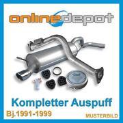 Fiat Cinquecento Auspuff