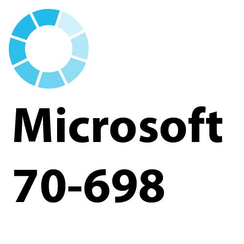 Microsoft 70-698 MCSA Installing and Configuring Windows Exam Test Simulator PDF