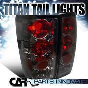 Nissan Titan Smoked Tail Lights
