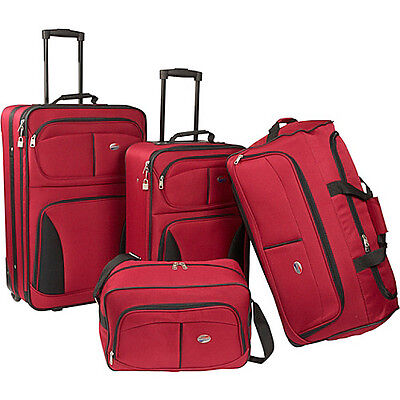American Tourister Fieldbrook 4-PC Set - Red on Rummage