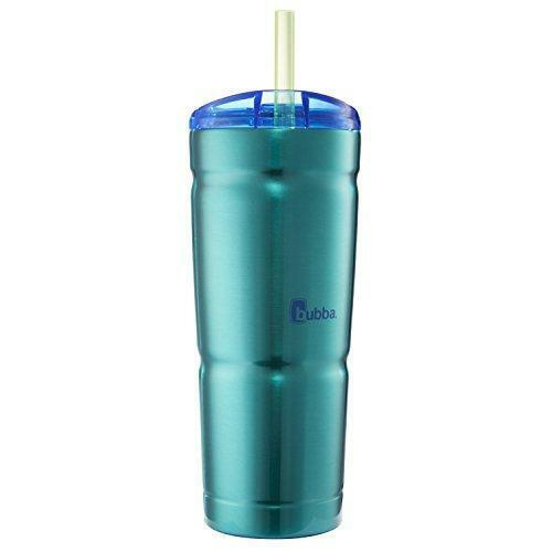 bubba Envy S Vacuum-Insulated Stainless Steel Tumbler with Straw, 24 oz., Island