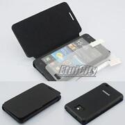 Flip Leather Case Cover Samsung Galaxy S2 I9100