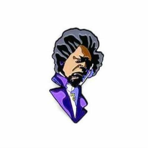 "Zobie Box - Limited Edition 2"" Enamel Lapel Pin - Glass - Mr. Glass"