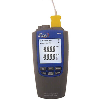 Supco Em90 Dual Thermometer Infrared And Thermocouple