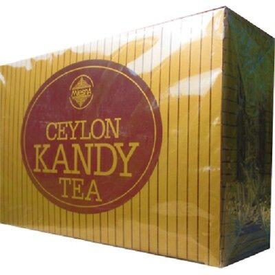Mlesna Ceylon Tea Kandy Black Tea 100Tea bags 200g/7.05oz Free (Ceylon Kandy Black Tea)