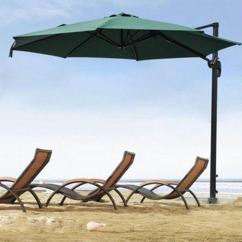 Outdoor Umbrellas Cantilever Ebay