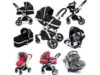3 IN 1 I SAFE TRAVEL SYSTEM IMMACULATE CONDITION