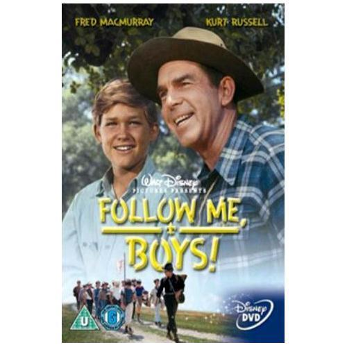 Follow Me Boys (Fred MacMurray Kurt Russell Disney) New DVD R4