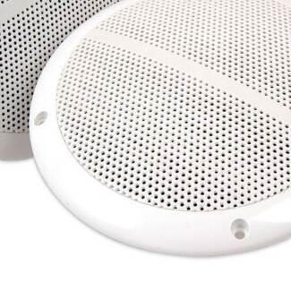 Set of 2 6.5 inch 2-Way Outdoor Boat Waterproof Marine Speaker
