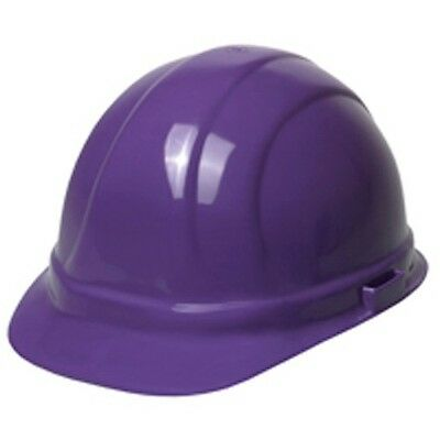 Made in USA OSHA Compliant Hardhat Ratchet turn knob Purple Hard Hat Free Ship](Purple Hard Hat)