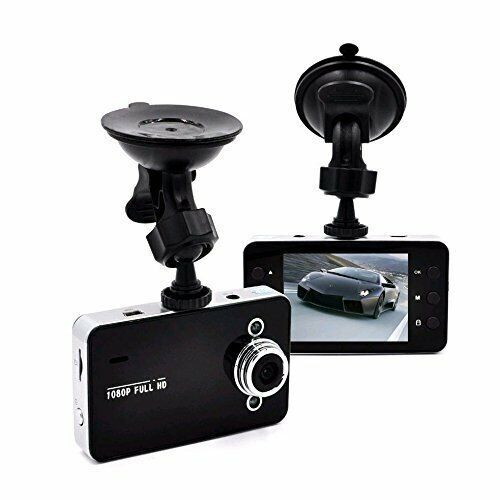 "1080P Car Dashcam HD 3PM Video Cam Recorder with Night Vision 2.4"" LCD Screen"