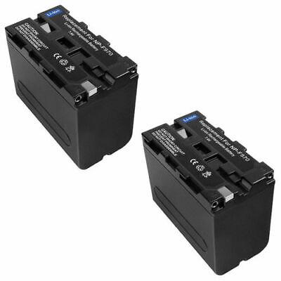 2x Batería Sony HDR-AX2000 HDR-AX2000E HDR-FX1 HDR-FX1E HDR-FX7 HDR-FX7 1800mAh