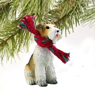 Wire Fox Terrier Red Original Ornament ()