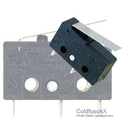 Five 5x Cnc Laser Machine Micro Switch Limit Sensor B1