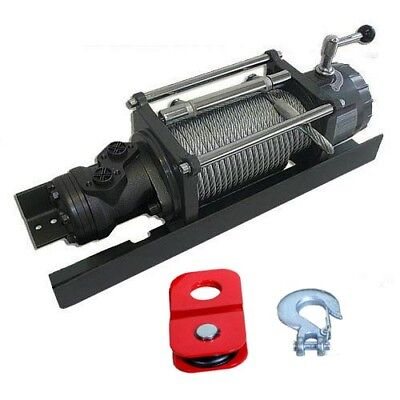 Hydraulic Tow Truck Winch - 10000 Lbs Capacity - 1813 Psi - 4 To 10.6 Gpm