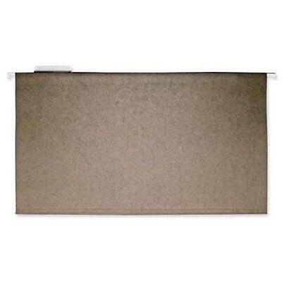 Business Source Standard Hanging File Folder - Legal - 8.50 X 14 - 15 Tab Cut