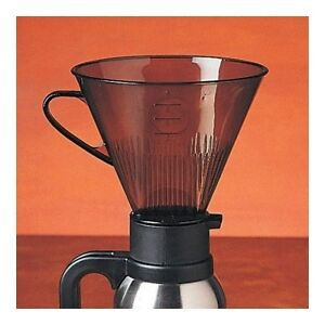 rsvp direct brew pour over coffee filter cone camping travel compact maker new ebay. Black Bedroom Furniture Sets. Home Design Ideas