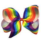 Rainbow Hair Bow Clips for Girls