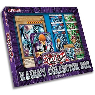 YUGIOH KAIBA'S COLLECTOR BOX NEW FACTORY SEALED (1 Deck + 6 Boosters Packs)