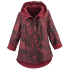 Polyester Duffle Coat Red Coats & Jackets for Women