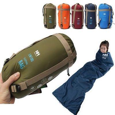Envelope Sleeping Bag Camping Travel Outdoor Ultra Light Windproof Portable