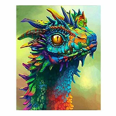 DIY Paint by Numbers for Adults Kids Dragon Acrylic Paint by Number Painting Kit