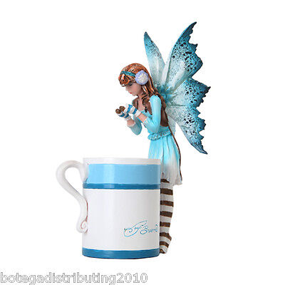 Amy Brown Fantasy Art (Amy Brown Hot Cocoa Faery Fantasy Art Statue Hot Chocolate Cup)