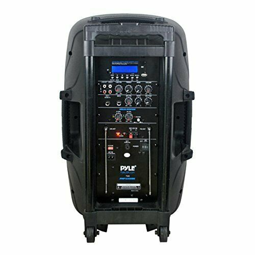 Portable Bluetooth PA Speaker System, MP3/USB/SD Readers, 12'' Speaker