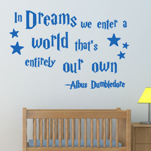 Harry Potter Wall Decal Quotes