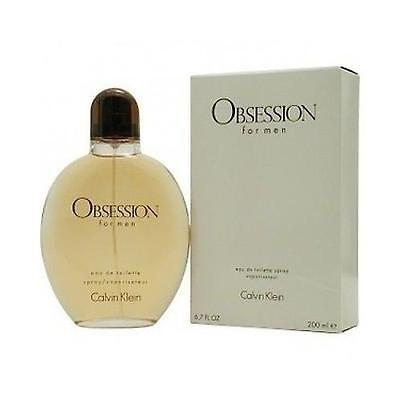 Obsession by Calvin Klein 6.7 / 6.8 oz EDT Cologne for Men New In Box ()