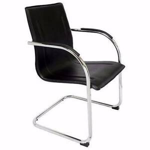 4 x Office Cantilever Visitor Chairs Albert Park Port Phillip Preview